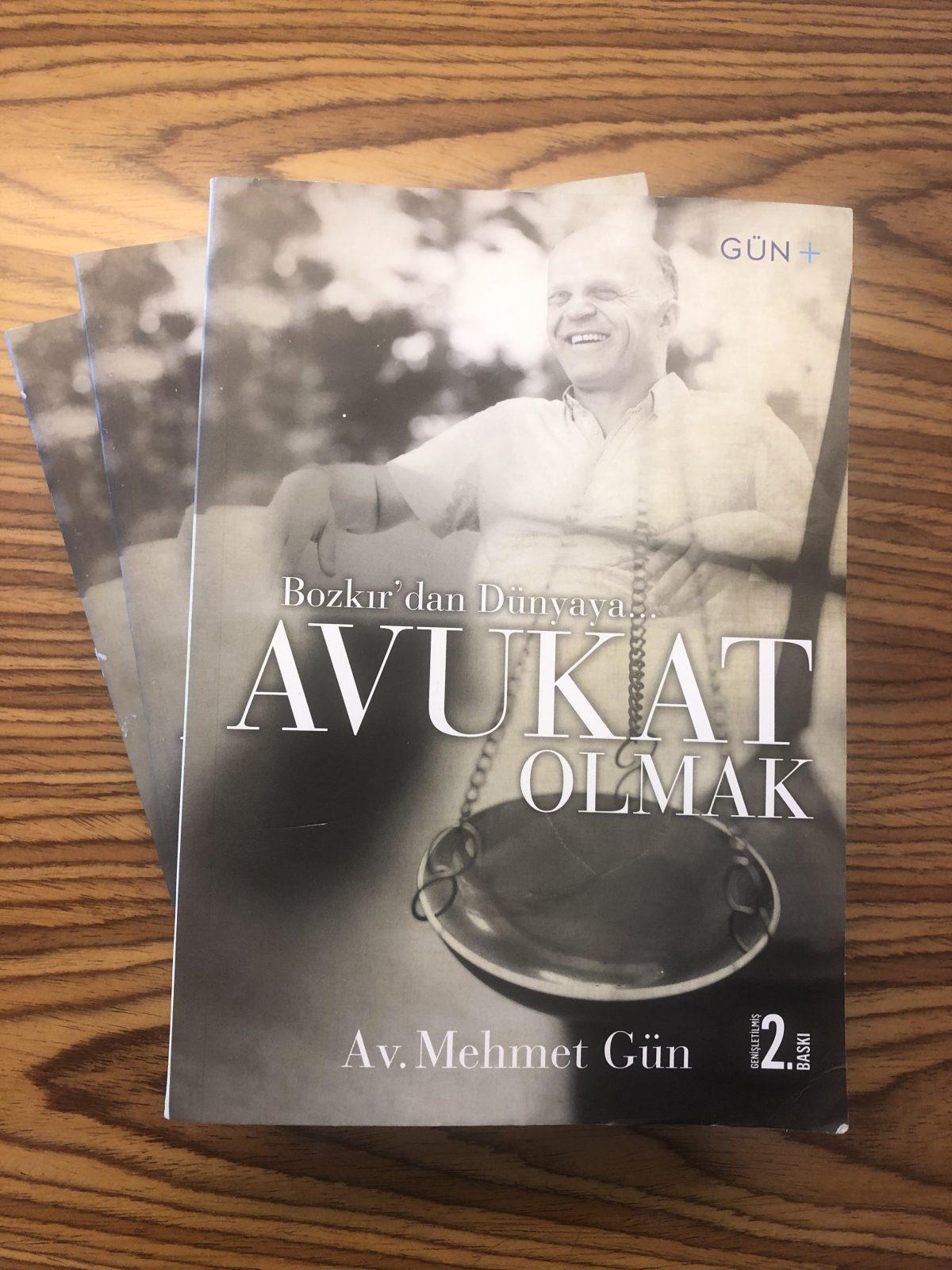 Bozkır'dan Dünyaya… AVUKAT OLMAK  Genişletilmiş 2. Baskı çıktı!